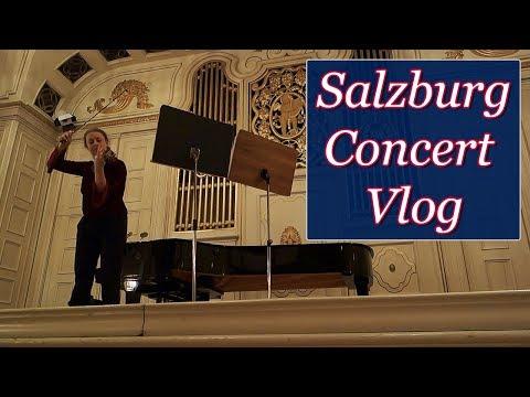 Salzburg Concert Vlog