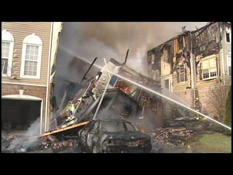 Fire ravages homes in Brandywine Hundred [Delaware Online News Video]