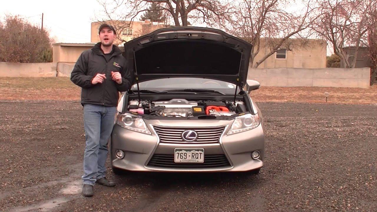 Real First Impressions Video 2015 Lexus ES 300h Luxury Hybrid