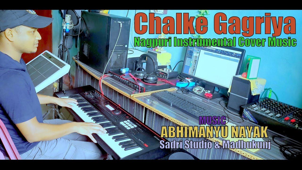 Download Chalke Gagariya // छलके गगरिया // Theth Nagpuri Instrumental Cover Music // Abhimanyu Nayak