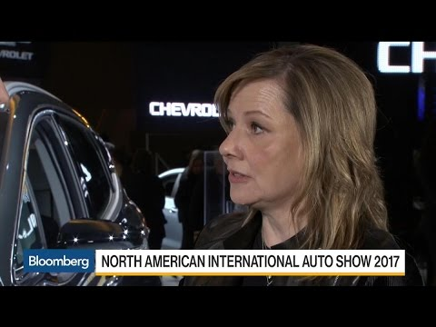 GM CEO Barra on Trump, SUVs, Autonomous Vehicles
