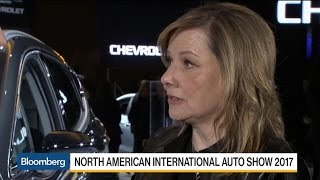 GM CEO Barra on Trump, SUVs, Autonomous Vehicles