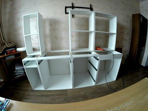 Кухонный гарнитур своими руками TimeLapse