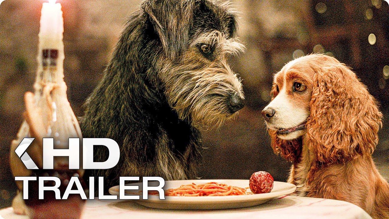 Lady And The Tramp Trailer 2019 Youtube