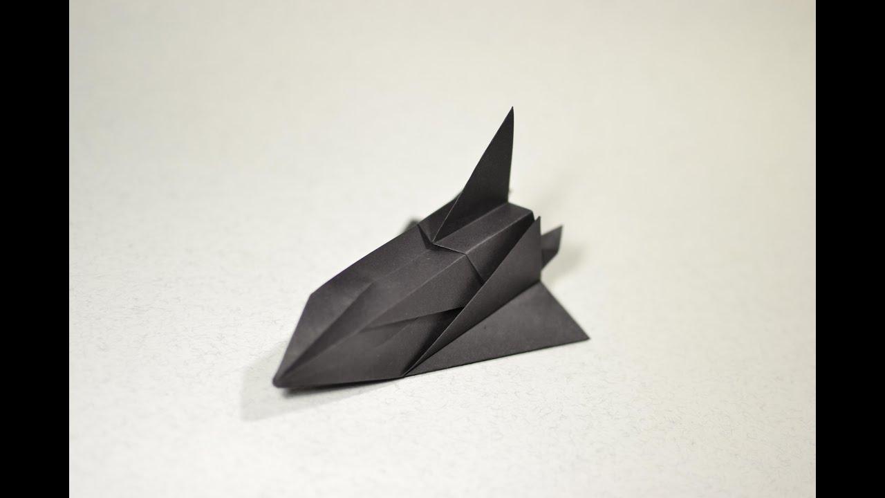 COOL Origami Space Shuttle SR-71 by Toshikazu Kawasaki ... - photo#4
