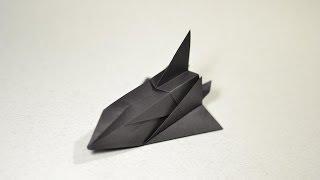 COOL Origami Space Shuttle SR-71 by Toshikazu Kawasaki - Yakomoga Origami