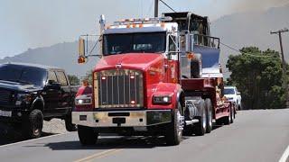 CAL FIRE Engines, Planes, Dozer, and NEW Rare Crew Bus responding Code 3 to a Wildfire