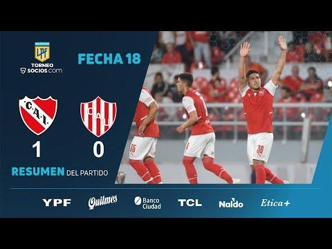 #TorneoSocios | Fecha 18 | resumen de Independiente - Unión