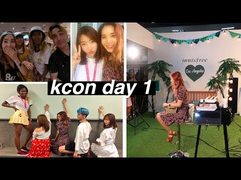 Reunited With All The YouTubers in LA   KCON Day #1