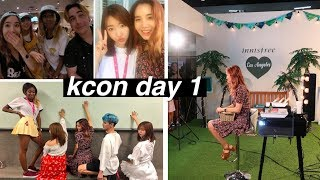 Reunited With All The YouTubers in LA | KCON Day #1