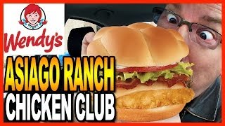 Wendy's Asiago Ranch Chicken Club Meal And Drive Thru Test