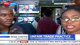 Small traders decry unfairness trade practices