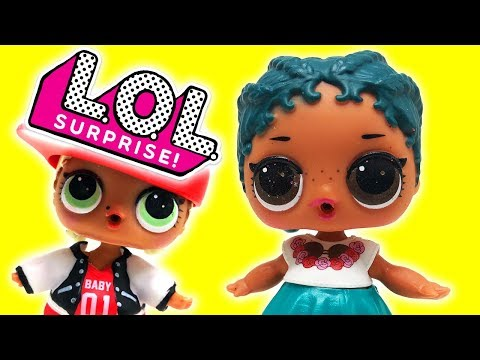 LOL Surprise Dolls New Girl at School! Featuring Sugar Queen, Dollface, MC Swag, Curious QT, & Diva!