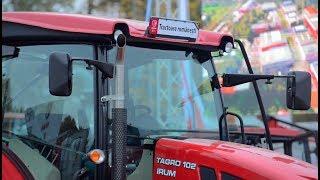 Test drive cu tractorul 100 romanesc. Cat costa si cum arata utilajul produs la Reghin