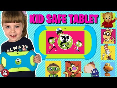 PBS KIDS PLAYTIME PAD *KID SAFE* ANDROID TABLET