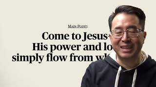 21 01 31 10 30   The Life Overflowing   Matthew 9