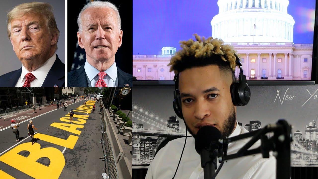 PODCAST | Black Lives Matters - Trump vs Joe Biden