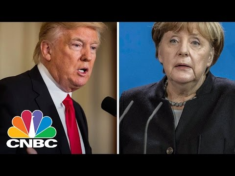 US-German Trade On The Cards For President Trump-Chancellor Merkel Meeting | CNBC