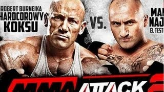 Robert Burneika vs Marcin Najman (HD) 2017 Video