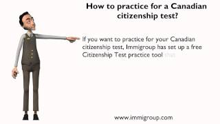 How to practice for a Canadian citizenship test?