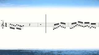 奏でてみようよ102 バッハ バイオリン協奏曲2番より 楽譜