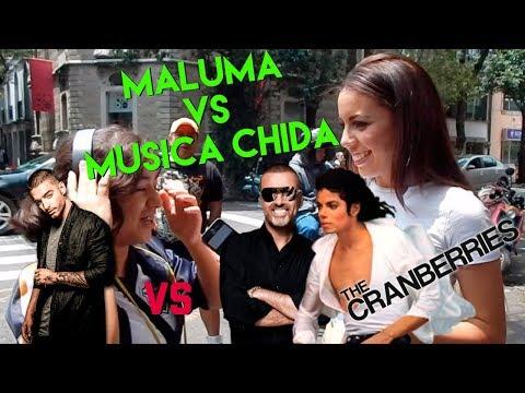 MALUMA VS MÚSICA CHIDA/ SECUNDARIA/CUANTO SABEN/ KENIA MIRANDA