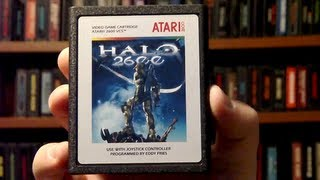 LGR - Halo 2600 - Atari 2600 Game Released in 2010!
