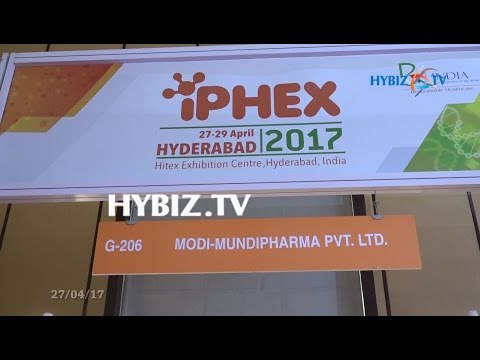 Modi-Mundipharma, New Delhi | IPHEX 2017 Pharma and Health Care Exhibition Hyderabad | hybiz