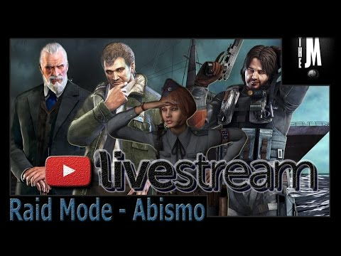 Resident Evil Revelations [1 e 2] Modo Raide [Abismo e Code Red] (LiveStream e Facecam)