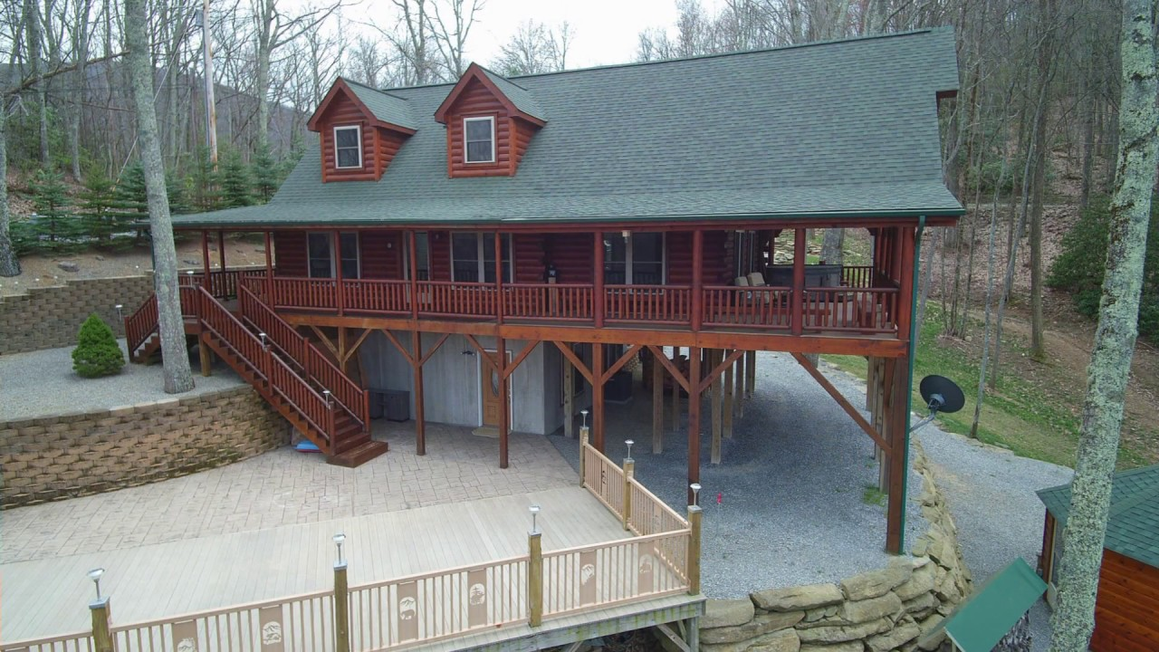 valley vrbo maggie cabins rentals nc side mountain cabin log