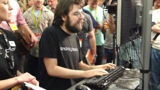 SXSW This Guy Can Type 163 Words Per Minute
