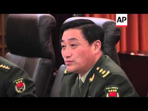 US Army Chief Of Staff Meets Top Chinese Generals