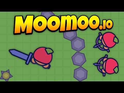 MooMoo.io - Huge Army Takes Over the Map - Bow Update! - Let's Play MooMoo.io Gameplay
