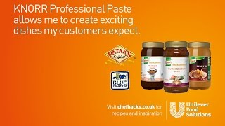 KNORR Professional Pastes | Unilever Food Solutions UK