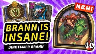 BRANN is INSANE! | Hearthstone Battlegrounds
