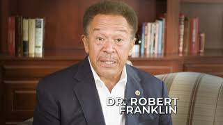 Robert Franklin - A Leader for these Times
