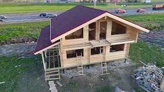 видео Строительство дачных домов, под ключ. Дешево, своими руками