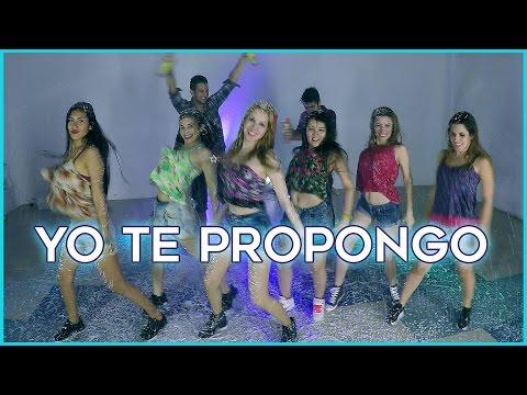 YO TE PROPONGO - Rombai | Coreografía con Youtubers + Guerra de espuma !