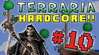 Terraria HC #2! - Part 10 (DEATH RACE!)