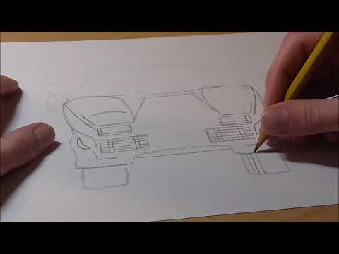 How To Draw Lamborghini Countach Youtube