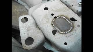 Передняя балка с 3 серии на 1 серию ГАЗ 21В Полная реставрация 60 серия 4 часть