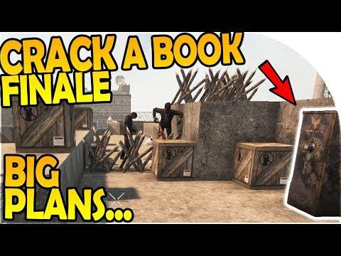 CRACK-A-BOOK END + ROOF SECRET + Big Plans... - 7 Days to Die Alpha 16 Gameplay Part 24 (Season 2)