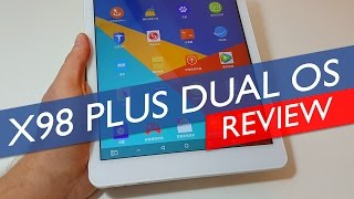 Teclast X98 Plus Dual OS Android Review With Benchmarks & Gaming