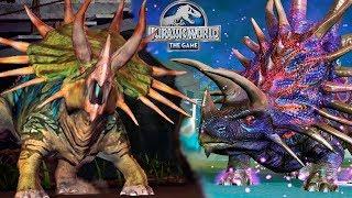 Джагернаут против ВСЕХ Цератопсидов Jurassic World игра