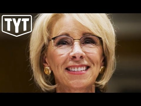 Betsy DeVos' Plan To Rip-Off Students