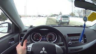 2011 Mitsubishi Lancer 1.5 AT POV Test Drive