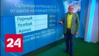 """""""Погода 24"""". От 18.06.2018 - Россия 24"""
