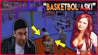 BASKETBOL MAÇI YAPARAK KIZ TAVLAMAK! - The Sims 4 Mesut'un Hayatı