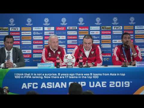 MD2: UAE's Alberto Zaccheroni pre-match press conference