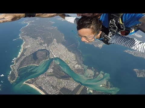 Skydive Australia - Lake Macquarie, Newcastle
